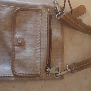 Cute tan Fossil purse